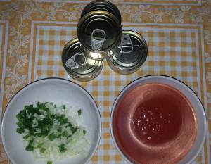 pasta en salsa marinera