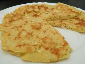 Tortilla de coliflor 2
