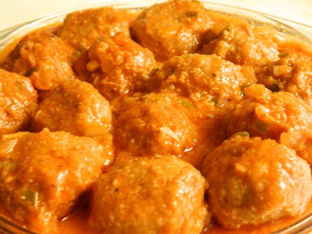 Albóndigas con salsa 3