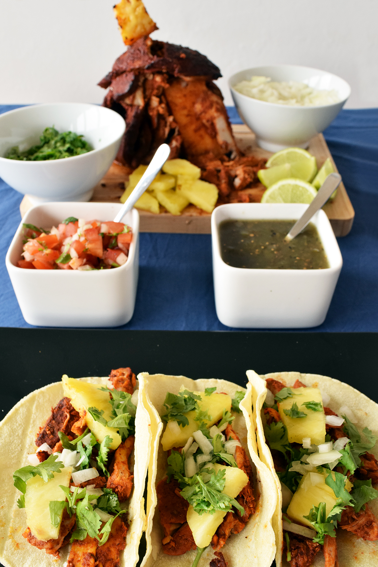 Receta de tacos al pastor receta mexicana recetas abc for Comidas para preparar