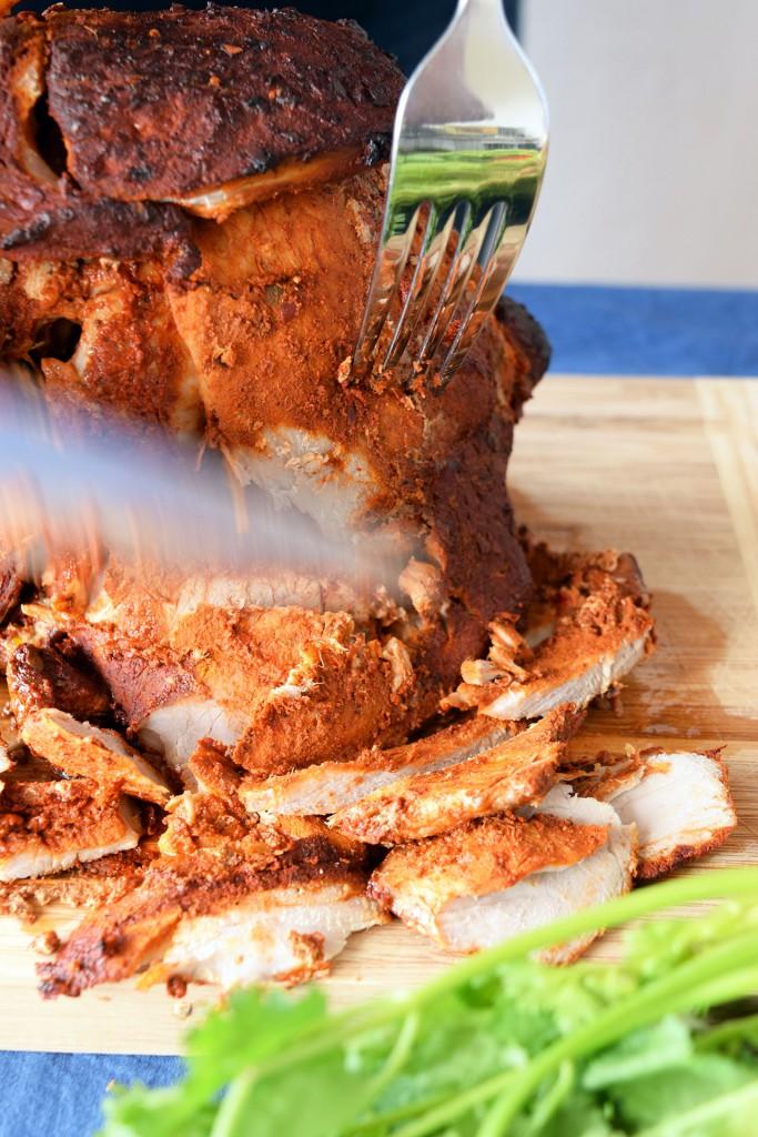 receta de taco al pastor