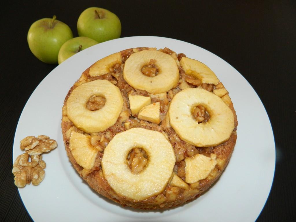torta invertida de manzana 1