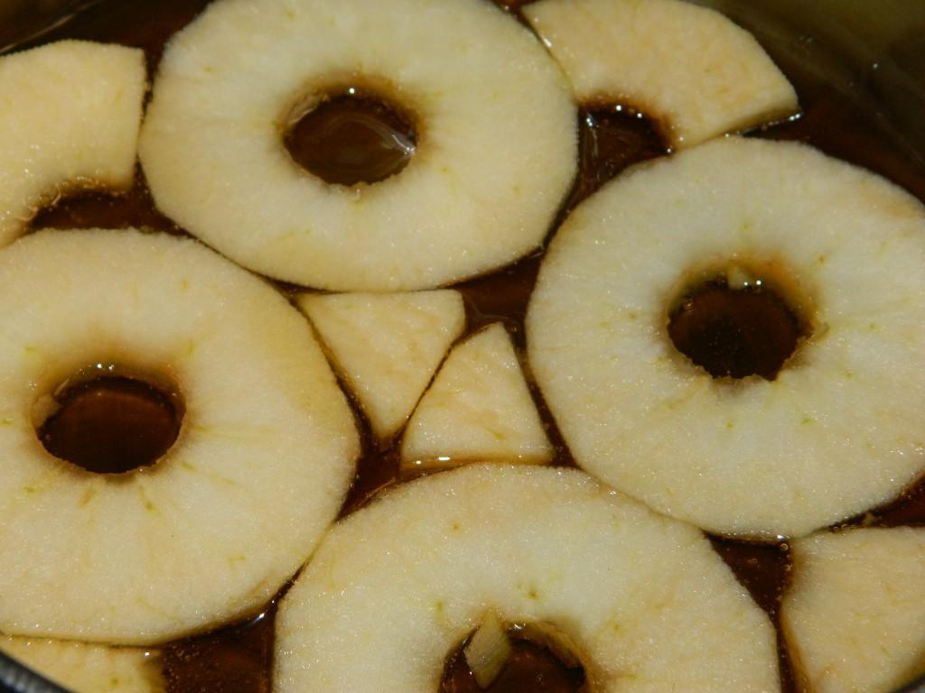 Torta invertida de manzana 2