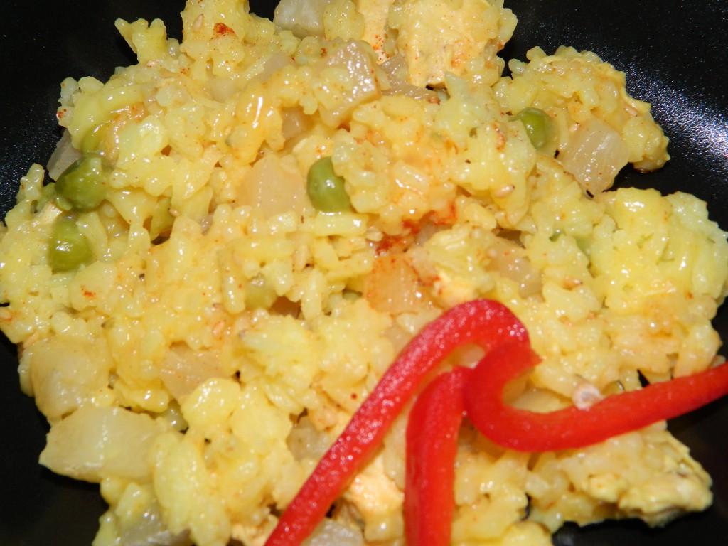 Cómo preparar un arroz con pollo 2