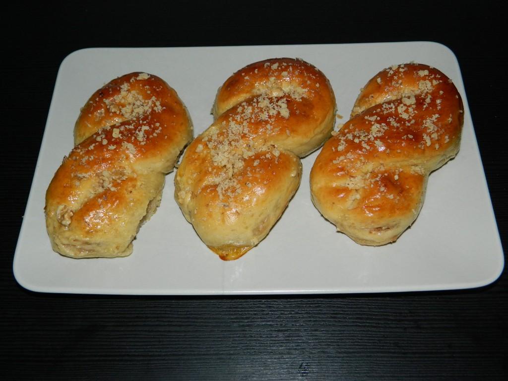 pan dulce con crema de nueces 1