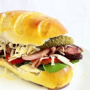 Platos típico de Estados Unidos-Pan Viennoise &  Sandwich estilo U.S.A.