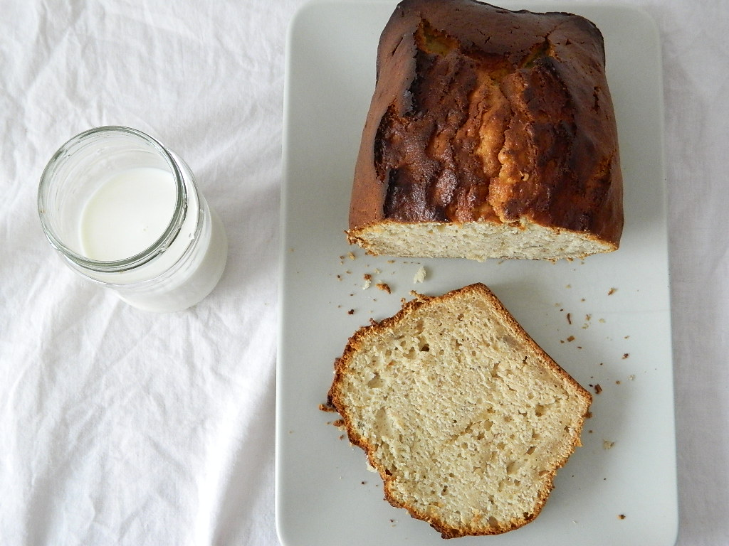 Cómo hacer pan de plátano6