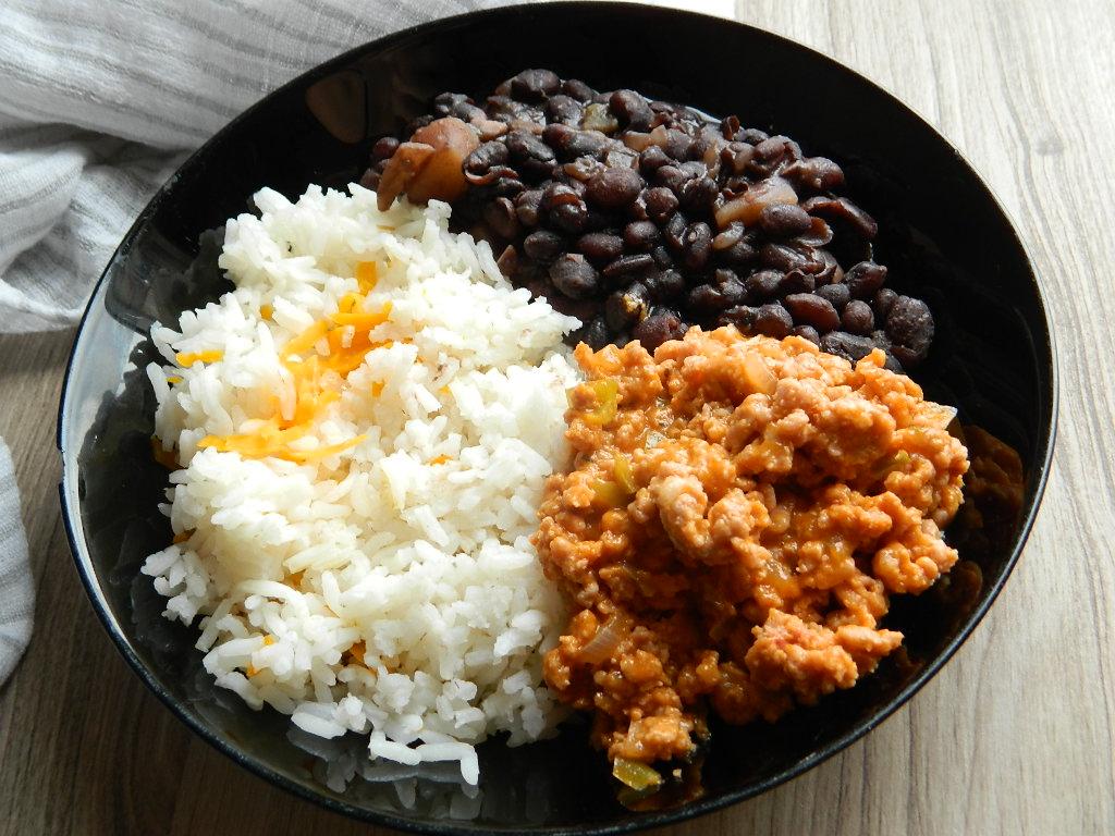 Receta De Frijoles Negros Con Arroz Y Carne Guisada
