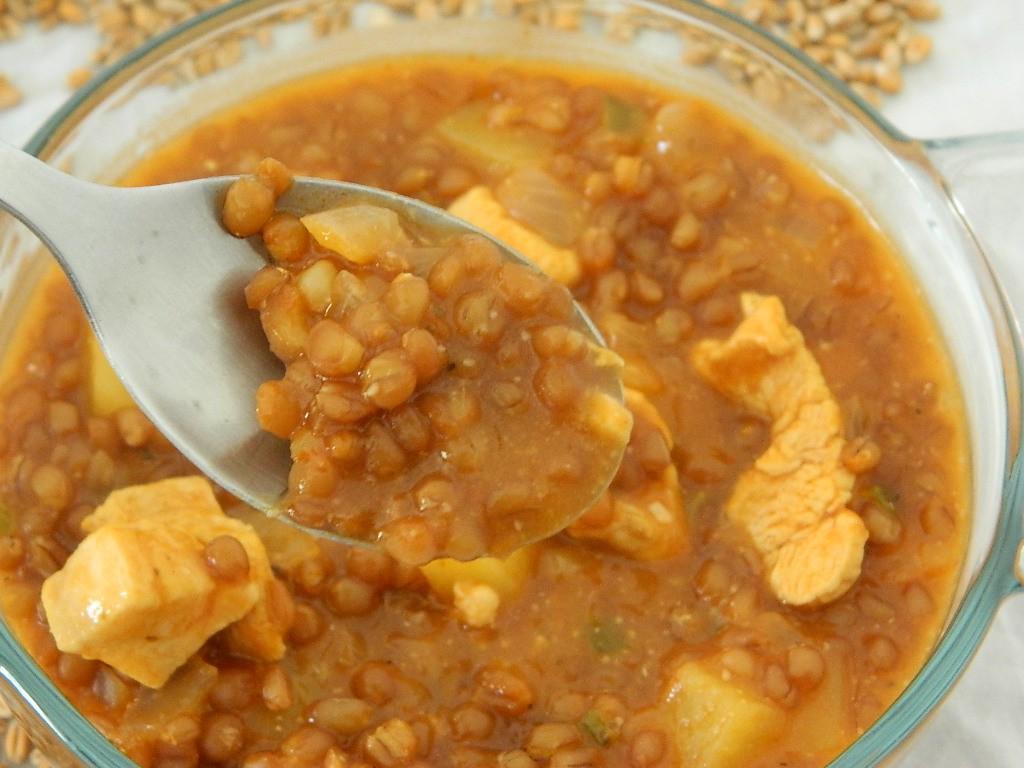 Guiso de trigo con pollo cocina peruana recetas abc for Cocinar trigo