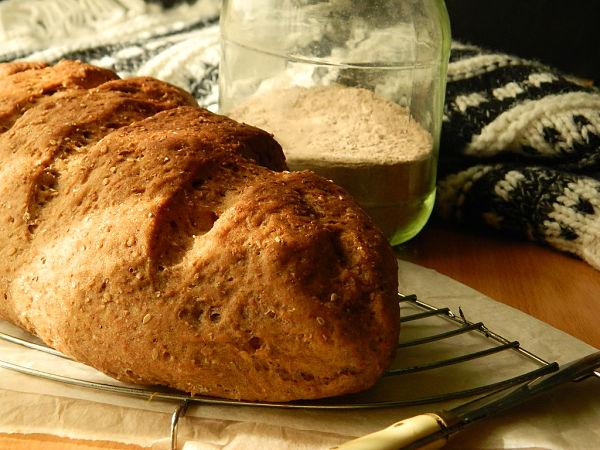 pan de harina de teff