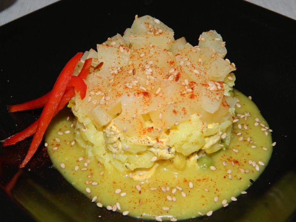 Cómo preparar un arroz con pollo 1