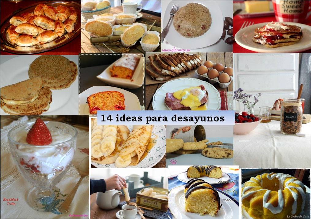 14 Desayunos ricos y nutritivos , Recetas ABC