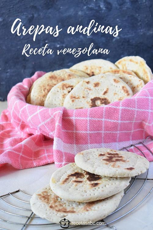 arepa andina de trigo