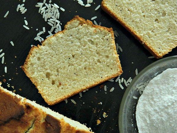 sin gluten - bizcocho con harina de arroz2