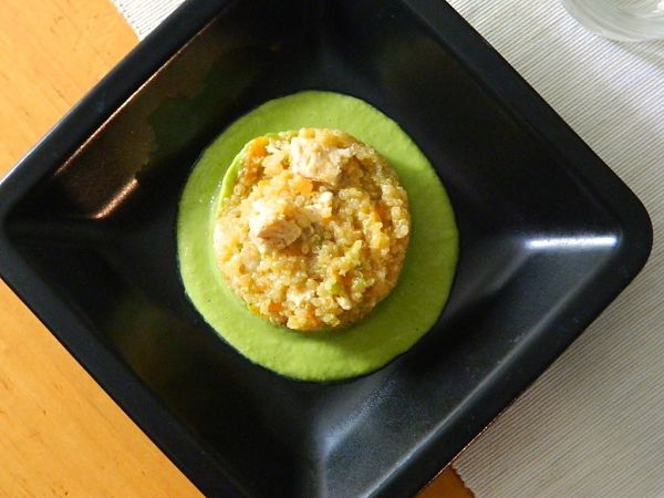 quinoa con pollo