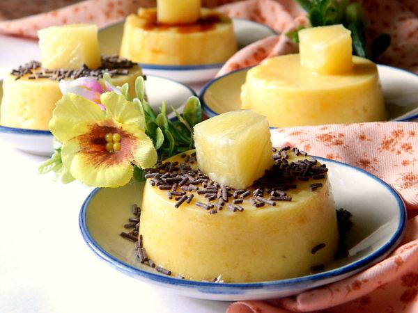 Dulce de mango y piña