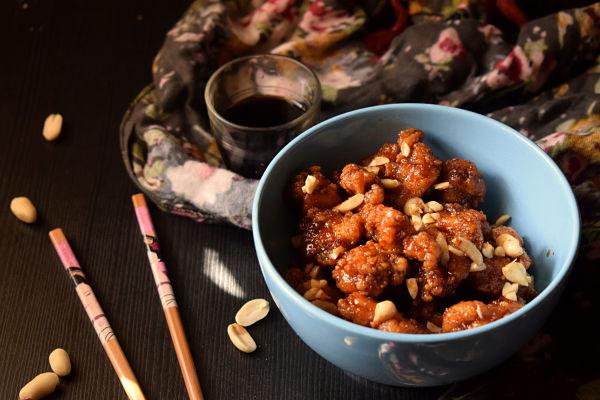 pollo dulce coreano