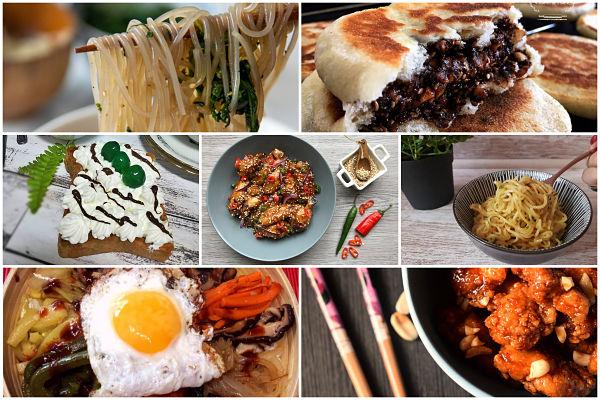 platos tipicos de Corea del Sur