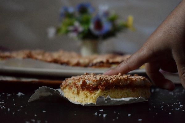 Louise cake, postre típico de Nueva Zelanda