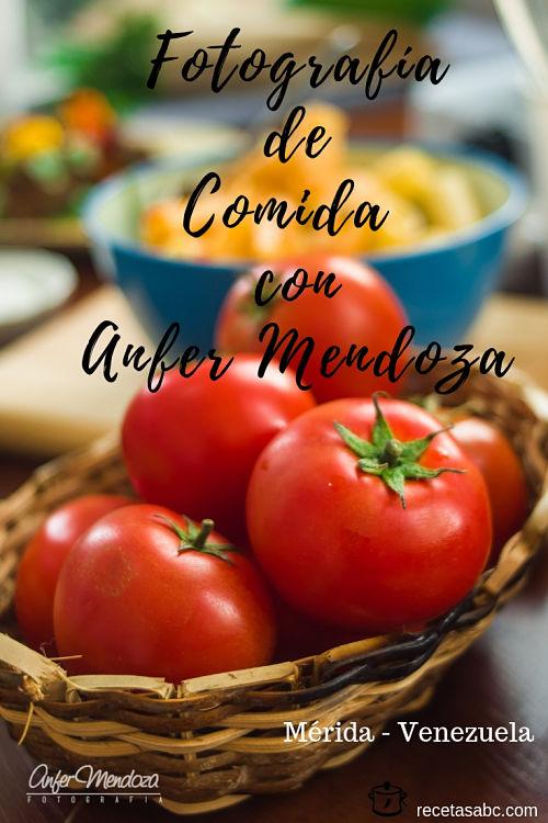 Fotografo de comida Mérida - Venezuela
